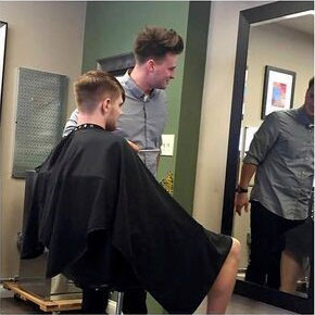 Haydn Hawthorne, Class of 2014 at The Beauty Institute, is now a Stylist/Barber - Steele Salon Hershey, PA